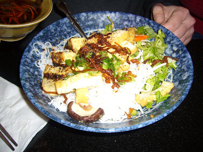 Rob's Vermicelli with Grilled Tofu