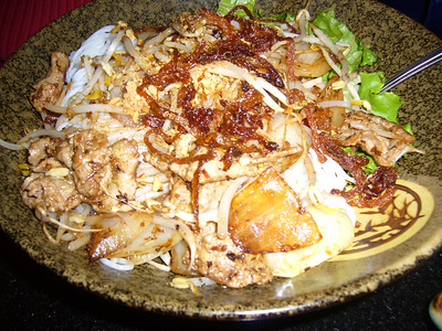 Erin's Vermicelli with Steak and Grilled Onions