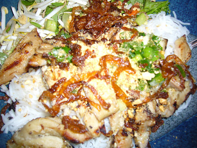 Adam's Vermicelli with Grilled Chicken