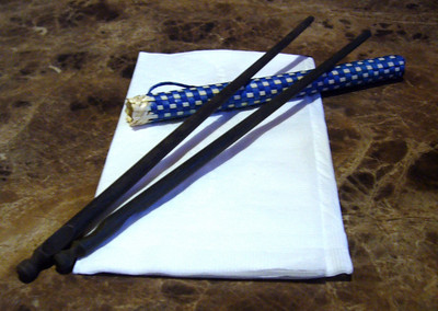 Chopsticks out of Cozy