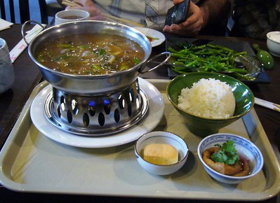 Spicy Beef in (very) Hot Pot
