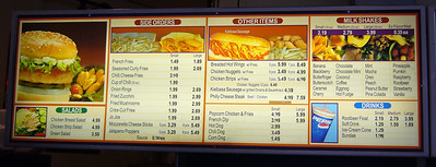 Menu - Left Side