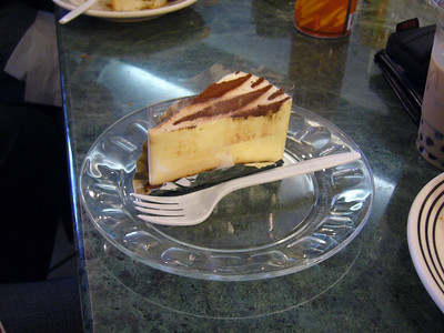 A piece of Tiramisu