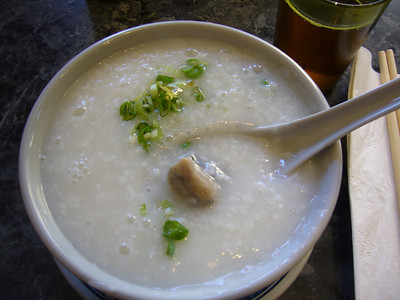 Black Chicken Congee