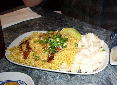 Rock Cod Noodle with Vegetable