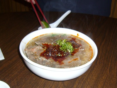 Cambodian Sate Beef Noodle