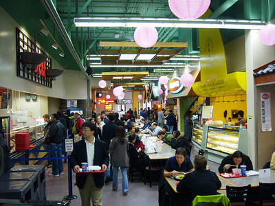 The heart of the food court