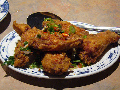 Salt and Pepper Fried Chicken Wings