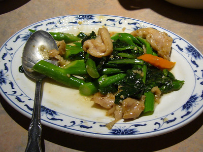 Chinese Broccoli with Chicken