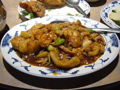 Braised Cod with Pork and Tofu