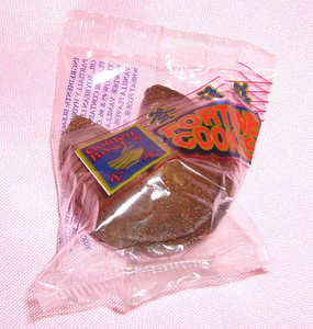 Jennifer 8 chocolate fortune cookies