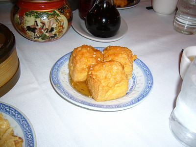 Fried Tofu w/ Shrimp