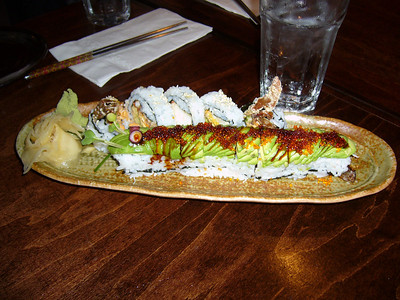 Caterpillar Roll & Spider Roll