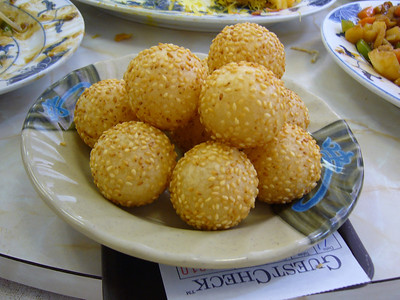 Complementary Hollow Sesame Balls