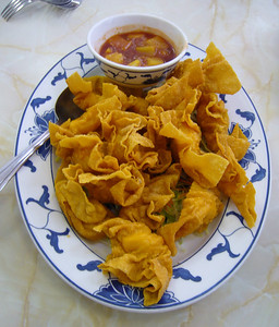 Seafood Fried Wonton