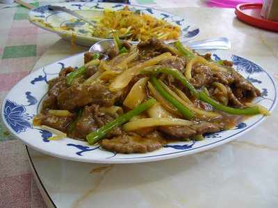 Satay Beef Chow Fun w/ Gravy