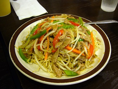 #1 - Shanghai Style Stir Fried Noodles
