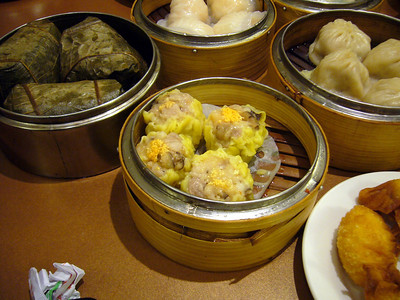 Shu Mai, Sticky Rice in Lotus Leaf
