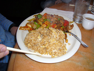 Kung Pao Chicken and Beef