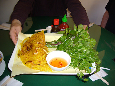 Banh Xeo - Chicken Crepe