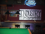Industry Lounge mural