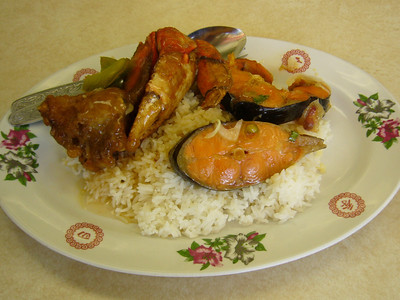Catfish + Crab Combo Lunch Special