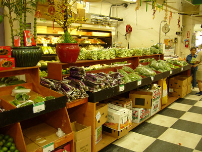 Viet-Wah vegetable & fruit aisle