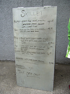 Skillet's Menu