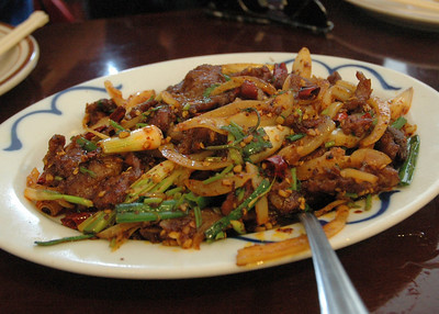 Sichuan Beef