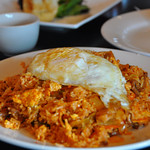 Red Kimchi Beef Fried Rice