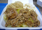 Kalau Pork w/ Steamed Cabbage