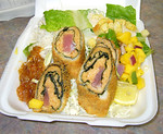 Nori Wrapped Ahi Katsu Lunch Combo