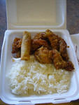 Lunch Combo: Orange Chicken
