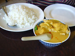 Curry Fish Fillet on Rice