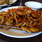 Szechuan Pork in Hot Garlic Sauce (Lunch Special)