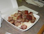 BBQ Pork and BBQ Duck Lunch Box