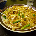 #3 - Sliced Beef with Stir Fried Flat Noodles