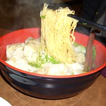 Shrimp Wonton Noodle Soup