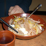 58 - Super Thin Beef Rice Bowl