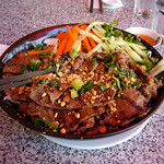 Bun thit nuong - Skewered Grilled Pork Noodles