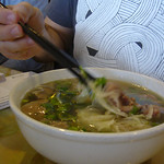 #13 - Pho Tai Bo Vien - Round Steak and Meatball (Small)