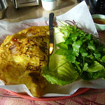 Banh Xeo - Vietnamese Crepe with Pork and Shrimp