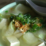 Canh chua chay - Hot & Sour Tofu Soup